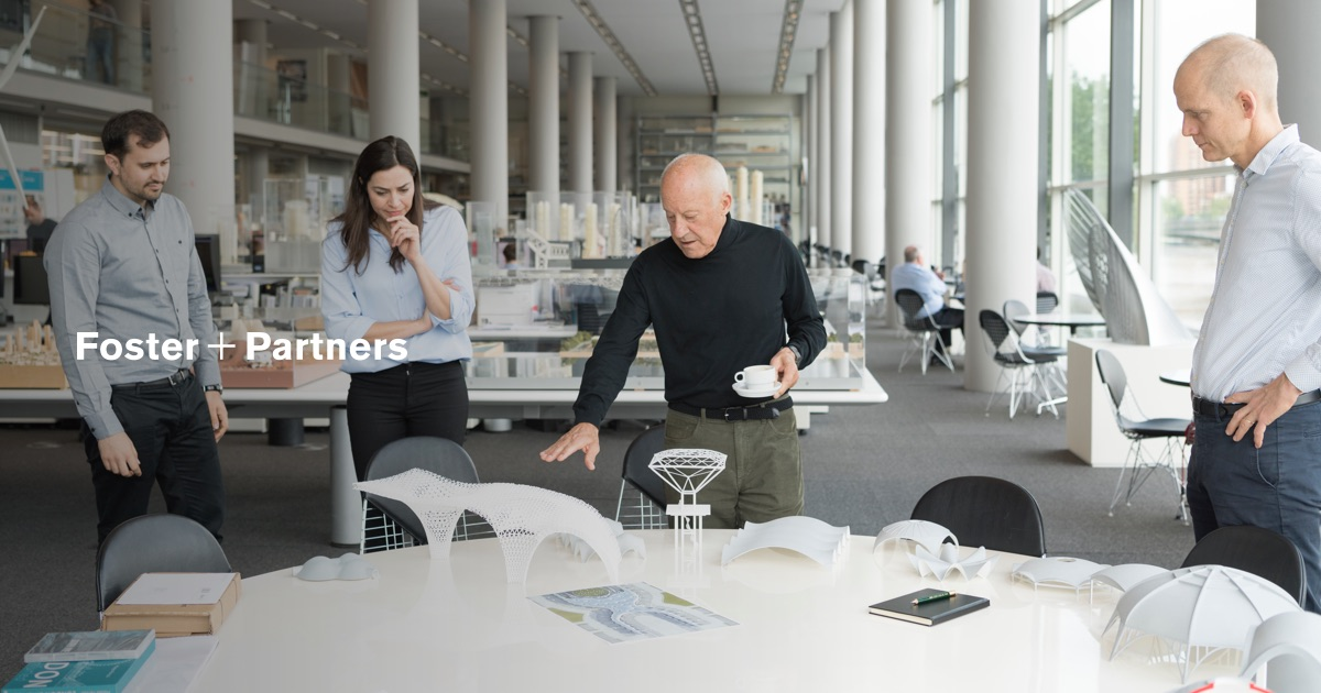Norman foster office Headquarters Apple Facebooksharejpg World Architecture Community Foster Partners